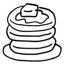 ホットケーキパンケーキのイラストお菓子 ゆるかわいい無料