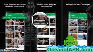 Free Gym Workout Chart Fitvate Gym Workout Trainer Fitness Coach Plans V3 5 Mod