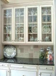 wall mounted kitchen cabinets fresh white with glass doors for india