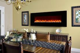 dynasty 70 in wall mount electric fireplace ef70 p