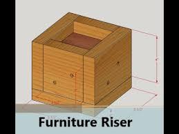 diy bed risers furniture risers