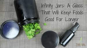 infinity jars. infinity jars: a glass that will keep foods good longer jars