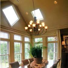 vaulted ceiling lighting modern living room lighting. Recessed Lighting Vaulted Ceiling With Classic Dining Room Design Modern Living C