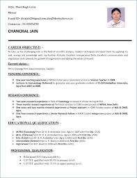 Formatting Resume Custom Current Resume Format Resume Example