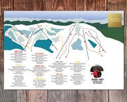 Seating Chart Vail Ski Resort Trail Map Wedding Seating