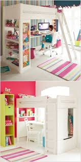 Space Saving Bedroom For Teenagers 17 Best Ideas About Girl Loft Beds On Pinterest Teen Loft
