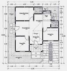 25 denah rumah 4 kamar terlengkap 2017 desain rumah minimalis 2017