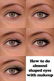 maquillaje para almendrar los ojos eyeliner for almond eyes eyeliner round eyes round eye