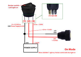 led rocker switch wiring diagram circuit wiring and diagram hub \u2022 3 pin rocker switch wiring diagram rocker switch wiring diagram new led toggle switch wiring diagram rh originalstylophone com dual led rocker switch wiring diagram 3 pin led rocker switch
