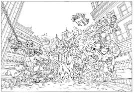 Small Picture Super Hero Squad coloring pages colorrme