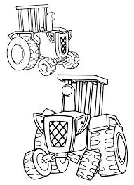 Inspirerend Kleurplaat Tractor Bob De Bouwer Klupaatswebsite