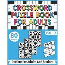 crossword puzzle book for s take