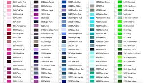 Isacord Color Chart Blog Isacord Color Chart Throughout The Most Amazing Mauve
