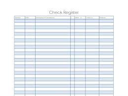 Check Register Printable 9 Excel Checkbook Register Templates Excel Templates