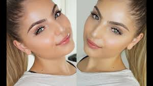 fresh skin glowing face makeup tutorial skin prep