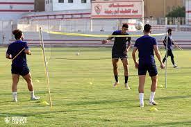 كرة طائرة وظهور خاص لأيمن حفنى فى تدريبات الزمالك.. صور - اليوم السابع