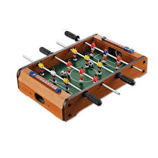 Miniature Wooden Foosball Table Game Classic Wooden Table Soccer KidsParents Interaction Toy Games 49