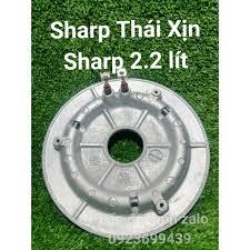 Mâm Nhiệt Sharp Thái 2.2 lít ( Sharp Xịn Chính hãng ) phụ kiện phụ tùng  linh kiện chính hãng - Nồi cơm điện Nhãn hàng SHARP