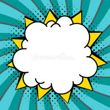 Word Bubble Templates Speech Bubbles Set Pop Art Styled Blank Speech Bubbles