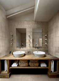 Rustic Bathroom Vanities Bathroom Contemporary With Natural Wood