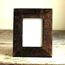 rustic 8x10 picture frame double frame double
