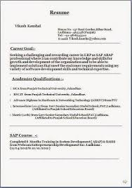 Download Format Of Resume Sample Template Example Ofexcellent