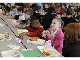 Image result for interracial children eating lunch pics