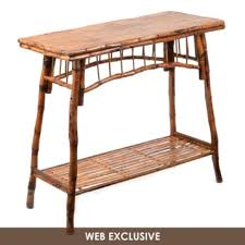 rattan console table. Rattan Console Table