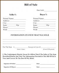 The Bill Of Sale Michigan Bill Of Sale Form For Dmv Car Boat Pdf Word