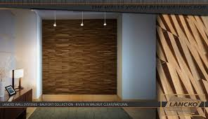 Small Picture Lancko Walls System Baufort River Walnut Clear Natural Wood Tile