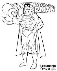 So, go ahead and pick the best superman coloring pages and your kids are sure to love. Superman Logo On Printable Coloring Page Sheet