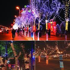 outdoor xmas lighting. 50u0027 150u0027 led rope light 110v party home christmas outdoor xmas lighting 100 300 i