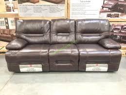 Costco Pulaski Furniture Leather Reclining safe