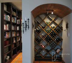 The Kritzinger Bookcase & Wine Rack