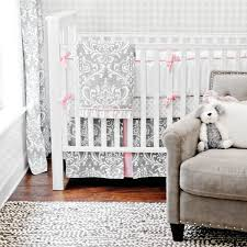 emma damask crib bedding set rosenberryrooms regarding attractive property emma crib bedding set prepare