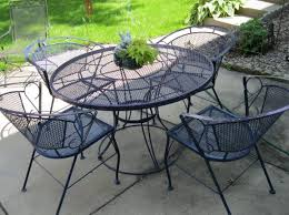 wrought iron vintage patio furniture. Outdoor Wrought Iron Patio Furniture Vintage Sandydeluca Design With Antique Decorating