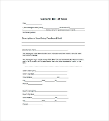 Sample Bill Of Sale For Car Pdf Free Motor Vehicle Bill Of Sale Generic Template For Auto And Form
