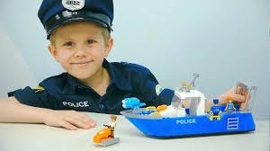<b>Полицейский</b> Катер <b>COBI</b> и <b>Полицейский</b> Даник. Хороший ...