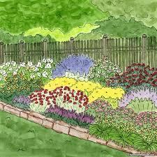 summer long blooms pre planned garden