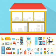 189 dollhouse vector images free