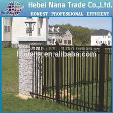 Small Picture Modern Gates And Fences Design Wrought Iron Wall Fence Designs