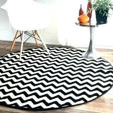 black and white striped area rug grey chevron rugs vibe zebra 5 3 round runner