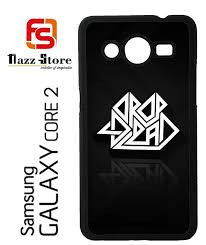samsung galaxy logo. drop dead logo x0142 samsung galaxy core 2 case