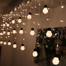 hanging landscape light bulbs