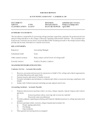 Fast Food Job Description For Resume 79 Astonishing Resume For