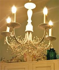shabby chic chandelier homely updated cream chandeliers uk