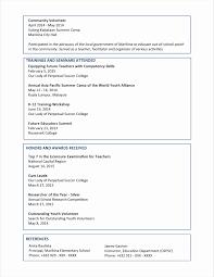 Resume Sample Malaysia For Fresh Graduates Resume Format Example Beautiful Sample Resume Format For Fresh 9
