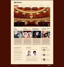 Design Gallery Live Website Design 53416 Big Palace Theatre Custom Website Design Big