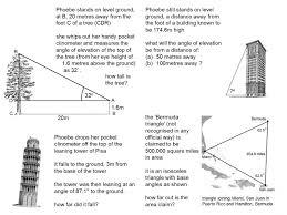 Trigonometry-worksheets- & Trigonometry - Finding Missing Sides ...