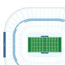Carolina Panthers Interactive Seating Chart Bank Of America Stadium Interactive Football Seating Chart